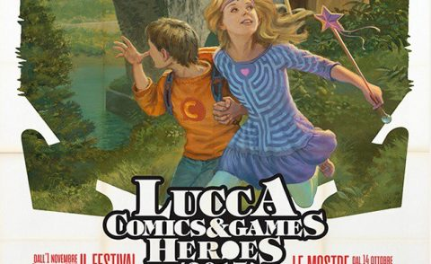 LUCCA COMICS AND GAMES HEROES 2017